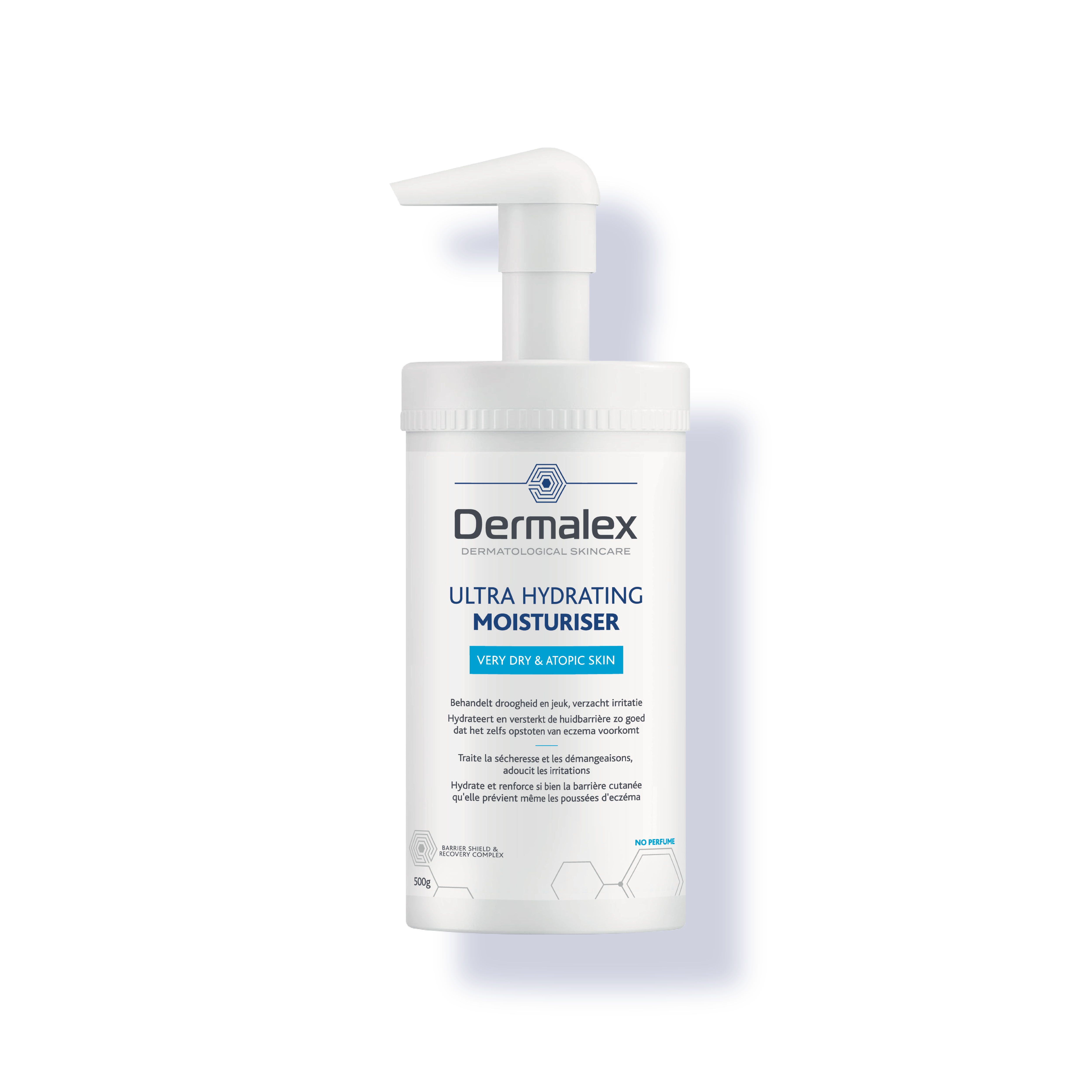 Dermalex Ultra Hydrating Moisturiser 500g